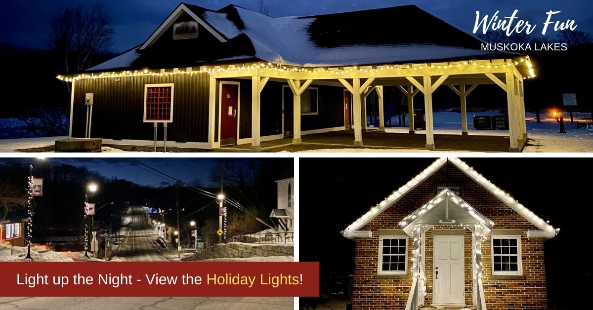 community holiday lights