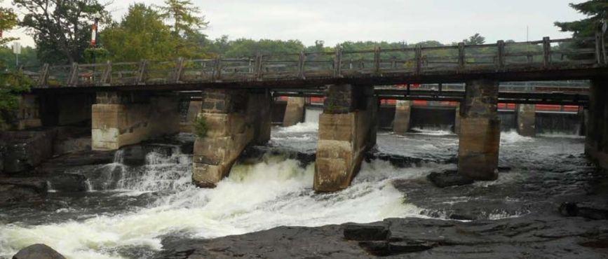 Bala Falls Road Bridge