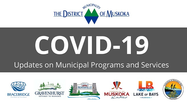 COVID-19 Updates on Municipal Programs and Services