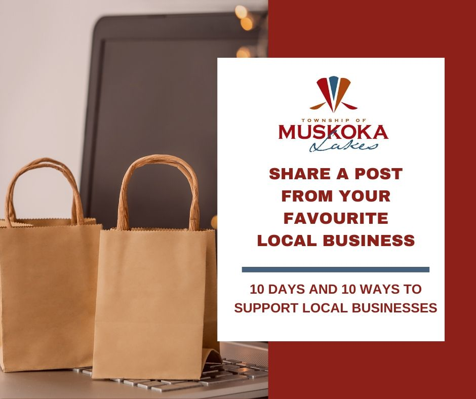 Share a Post From Your Favourite Local Business