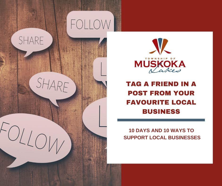 Tag a Friend in a Post From Your Favourite Local Business