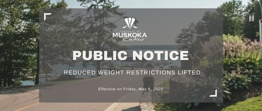 Reduced Weight Restrictions